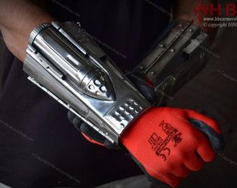 Metal Arm Detonator Mandalorian Din Djarin for Cosplay/Costumes/LARP/Collections