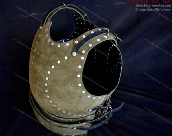 Milanese Brigandine - Covered Breastplate Body Armour (Buhurt/SCA/Medieval Reenactment/Medieval Combat Sports)
