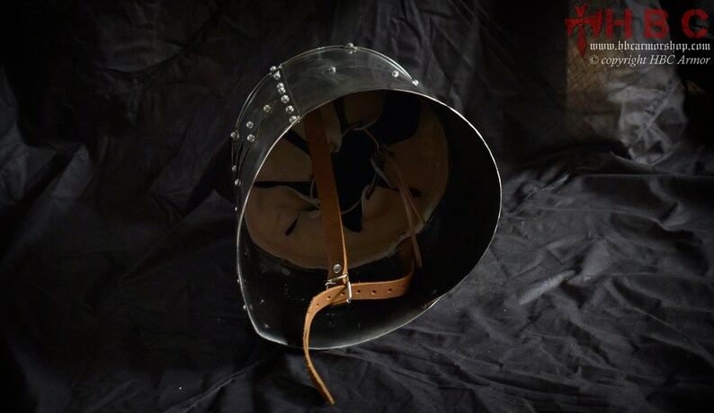 Medieval Reenactment /& role Plays Knight Templar Crusade Helmet for