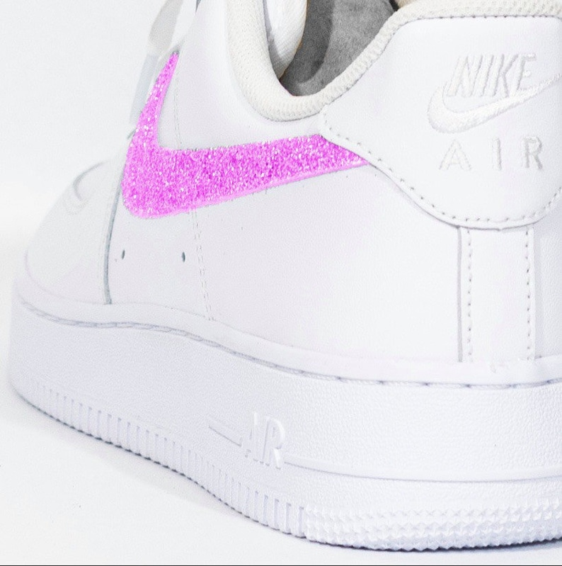 Nike Air Force 1 Pink Glitter gdTY81Oy