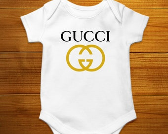 a7b3a454c Gucci Baby Bodysuit, Gucci Baby Clothes, Gucci Inspired, Gucci Baby Boy, Gucci  Baby Girl, Designer Baby Outfit, Gucci Baby Onesie, Baby grow
