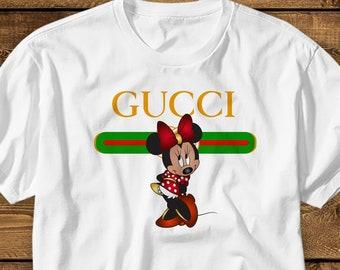 e6faab08 Gucci T shirt KIDS MENS WOMENS Gucci Shirt Gucci Minnie Mouse T-shirt Gucci  Mickey Mouse T shirt Gucci Disney Shirt Designer Tshirt Gift