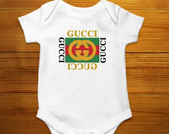 8e37e6bf790 Gucci Baby Bodysuit Toddler Tee Gucci Baby Clothes Gucci Inspired Shirt  Designer Baby Outfit Baby Shower Baby Tee Baby Grow Baby Onesie