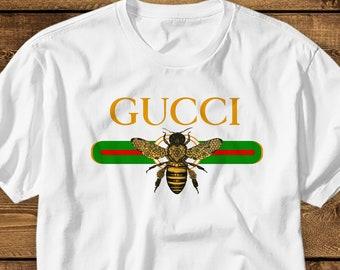 4c5371b89fa Gucci Bee Shirt KIDS MENS WOMENS Gucci T Shirt Designer Tshirt Gucci T-shirt  Gucci Inspired Shirt Gucci Tee Gucci Outfit Gucci Shirt Gift