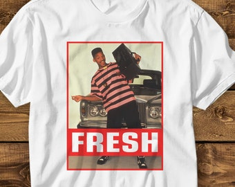 b42f31d9 The Fresh Prince of Bel Air MENS WOMENS Shirt Will Smith T shirt 90's Cult  Movie T-shirt American Sitcom Shirt Funny Shirt Unisex T-shirts