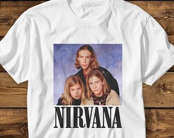 90f800b2 Nirvana Hanson Shirt MENS WOMENS T shirt Funny Tee Joke Hipster 90's Shirt  Parody Shirt Vintage Old School Style Design Birthday Gift
