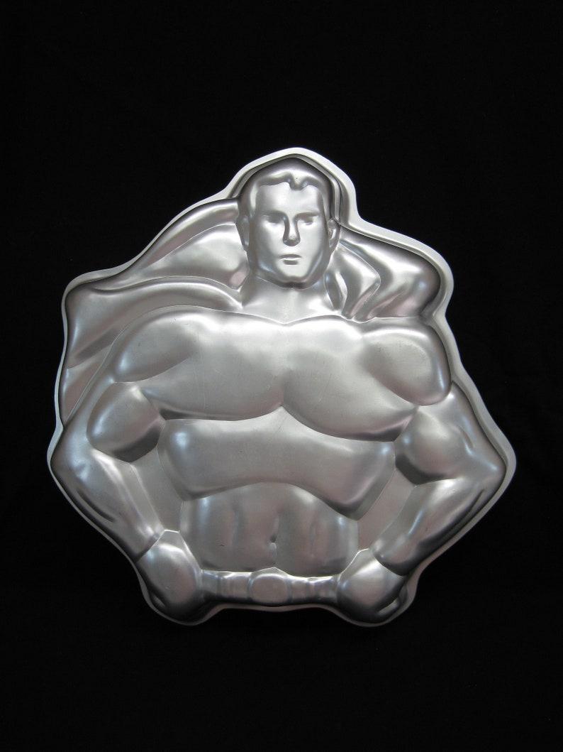 Vintage Wilton Super Hero Cake Pan # 502-1212