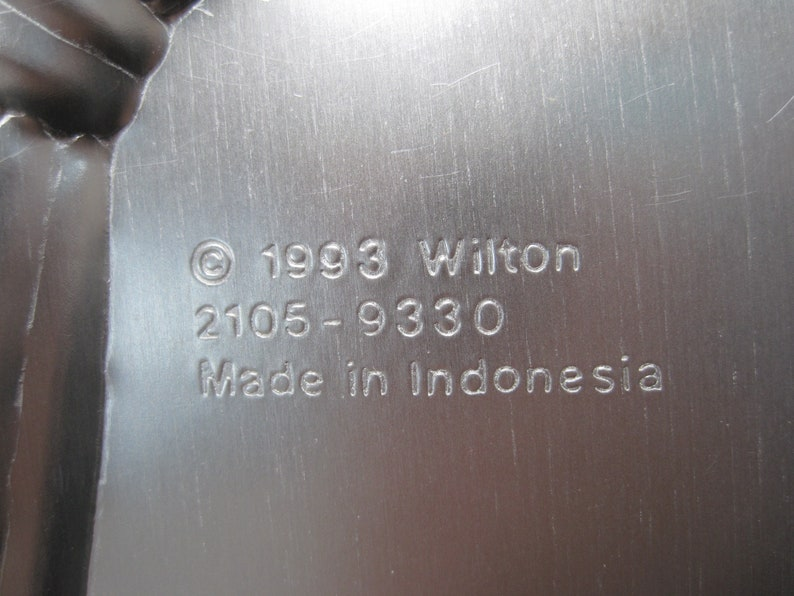 Vintage Wilton Witch Cake Pan # 2105-9330