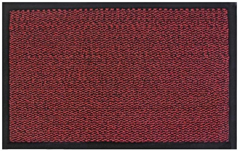 KALKI RED Heavy Duty Barrier Mats Non Slip Rubber Mat Floor Mats Kitchen Rugs Washable Light Weight Indoor Outdoor Rubber Door Mat