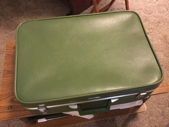 Sears Featherlite 1970's Suitcase