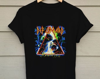 1df34beb Def Leppard Hysteria - Def Leppard Band - Band T Shirt - Rock Band T Shirt  - Tops and Tees - Unisex Adult Clothing - Street Wear - Hypebeast