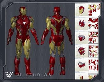 Iron Man-Inspired Mask | Disney Family | 270x340