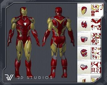 Iron Man Mark 85 pepakura file DIY pattern