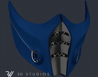 MK11 Sub-Zero Mask V5 - STL File