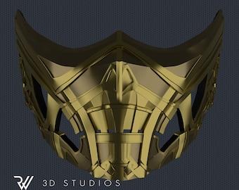 Scorpion New Mask - Mortal Kombat Movie 2021 - STL File