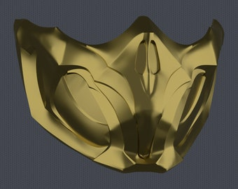 MK11 Scorpion Mask V1 - STL File