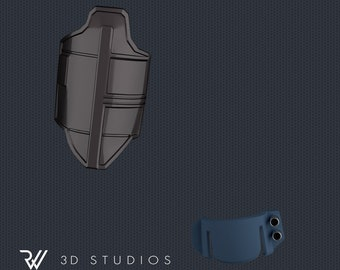 The Mandalorian 3D Model Update for Hot Toys 1/6 Scale Figure - STL File