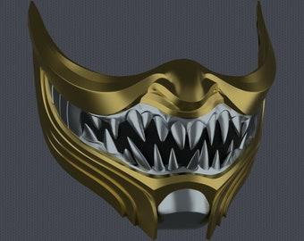 MK11 Scorpion Mask V8 - STL File