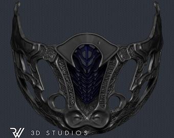 Sub-Zero New Mask - Mortal Kombat Movie 2021 - STL File