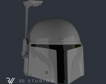 Mandalorian Helmet (DeathWatch, Jango & Boba Fett) - STL File for 3DPrinting