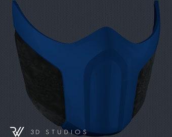 MK11 Sub-Zero Mask V3 - STL File