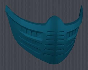 MK11 Aftermath Frost Mask - STL File