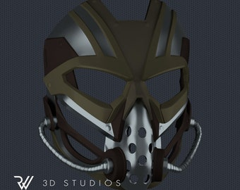 MK11 Kabal Mask V01 - STL File