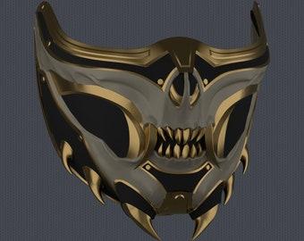 MK11 Aftermath Scorpion Mask V2 - STL File
