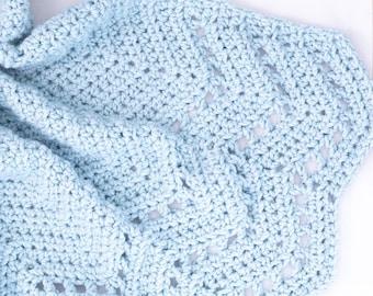 Mystic Ripple Blanket Crochet Pattern (Printable PDF)