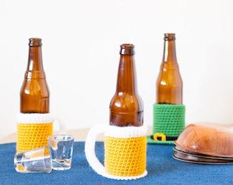 Beer Mug Beer Cozy Crochet Pattern - Printable PDF