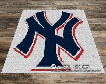 New York Yankees Logo (Row by Row)