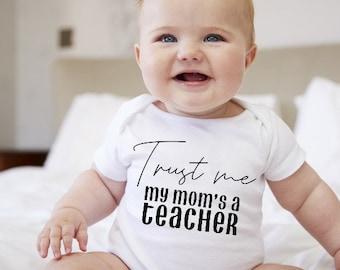 Teacher Baby Clothing Teachers Assistant Baby Teacher Baby Apparel,Baby Teacher