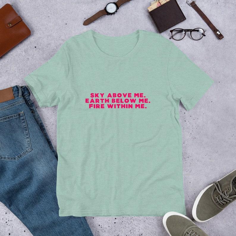 7e08c05dc Fire Within Me Feminist T-Shirt Sustainable Fashion Girl | Etsy