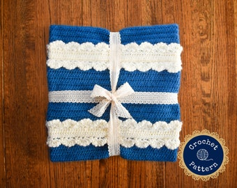 The Donwell Blanket Crochet Pattern | Instant PDF Download