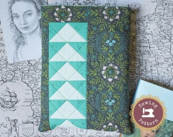 Demelza Book Sleeve Quilting Pattern | Instant PDF Download