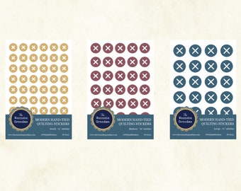 PREORDER Modern Hand-Tied Quilting Stickers