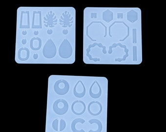Silicone Resin Mold for DIY Jewelry Pendant Making Tools Mould Craft axin72