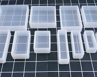 Large size Rectangular/square shape Silicon Mold- DIY silicone mold - resin silicon mold - for Home Decoration -Epoxy Resin Mold