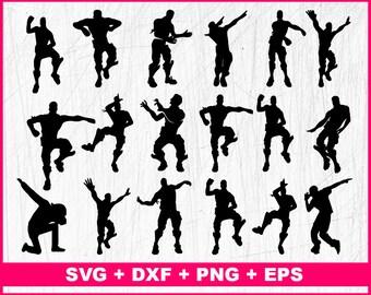 fortnite dance svg fortnite emotes svg squadgoals svg floss svg battle royale svg png pdf dxf files - fortnite floss clipart