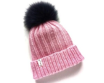 80882d373f5 knitted hat handmade knit clothes baby girl winter children s for kids  chunky merino warm gift hand baby handmade gift for independence day
