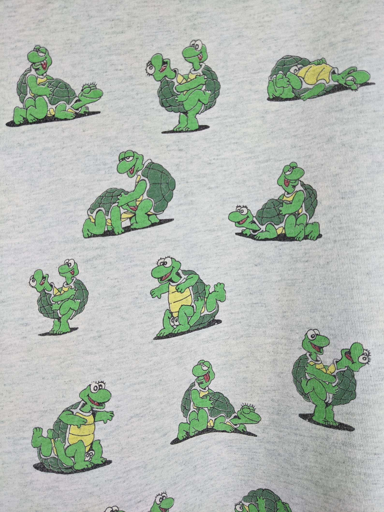 Vintage 1991 Turtles Sex Position T-Shirt Funny Animals   Etsy