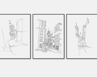 image about Printable Architectural Scale referred to as Architecture drawing Etsy