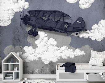 Behang Kinderkamer Vliegtuigen : Behang slaapkamer stoer gallery of mooi behang voor slaapkamer