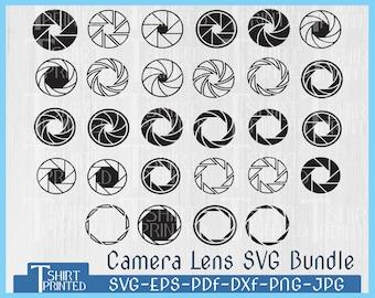 Camera Lens Svg, Camera Shutter Svg, Camera Lens Svg Bundle, Camera Lens Png, Photography Svg , Camera Clipart, Dxf, Png, Eps, Jpg, Pdf.