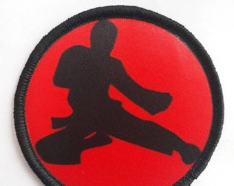 """Sew-On /""""Most Old Men Would Have Given Up By Now/"""" Martial Arts Patch"""