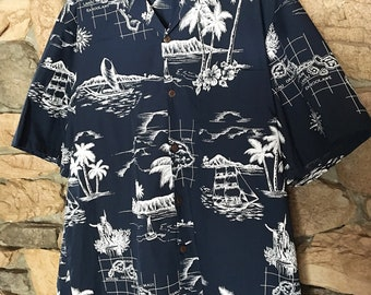 45b6fa9f Vintage Hawaiian Shirt by Royal Creations 2XL