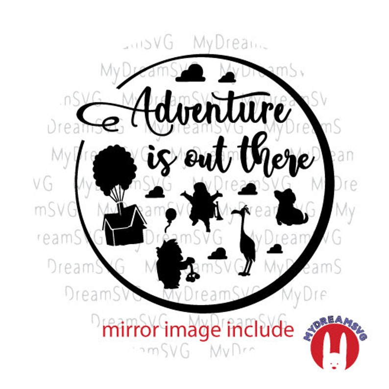 Adventure Is Out There Up Movie Svg Dxf Eps Png Jpg Cutting Etsy