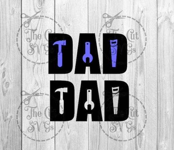 Dad Svg Dad Tools Svg Best Dad Ever Super Dad Thumbs Up Etsy