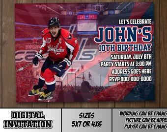 dd4b12611 Washington Capitals Digital Party invitation