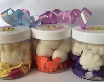 Cupcake or Flower Melts Cherry Pomegranate 100/% Wax Melts ~ No Dye Added ~ Vegan ~ 10 Seashell